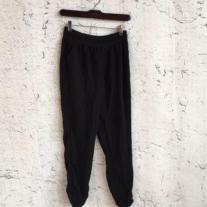 SO BLACK BOHO PANTS L